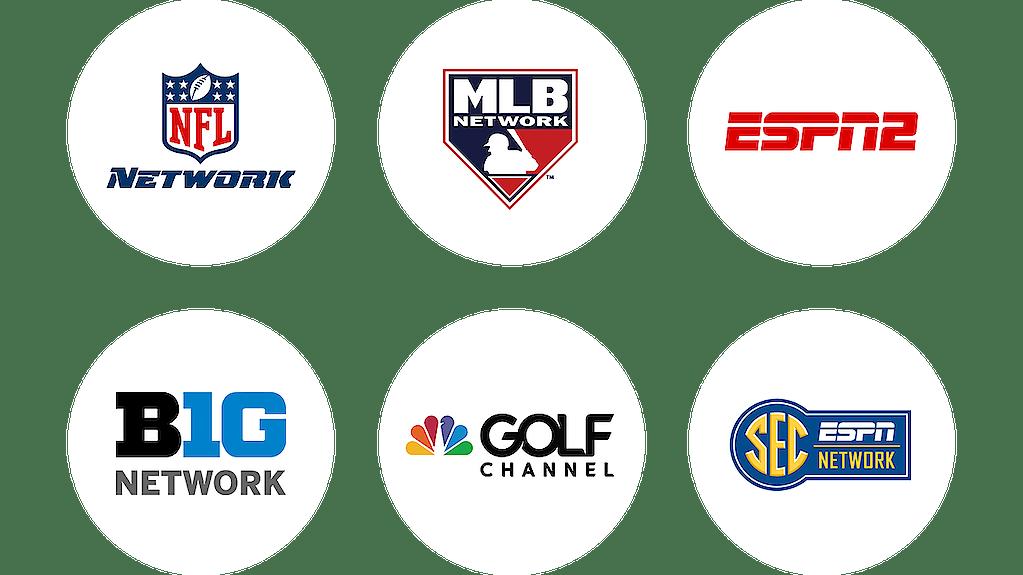 Premium Sports Programming Logos